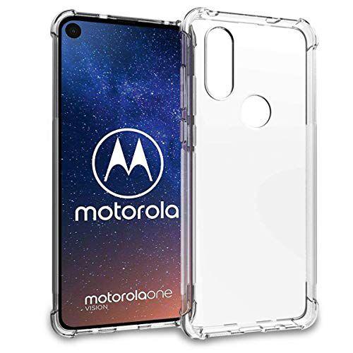 Capa Anti impacto Transparente Motorola One Vision 6.3 Polegadas Full Cover