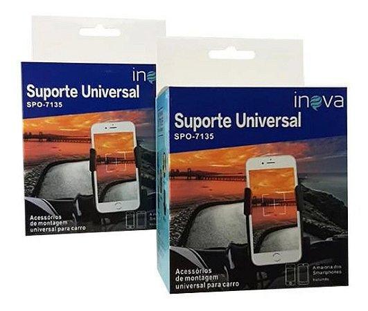 Suporte Veícular Universal Para Guidão de Motos e Bicicletas Inova Spo-7135
