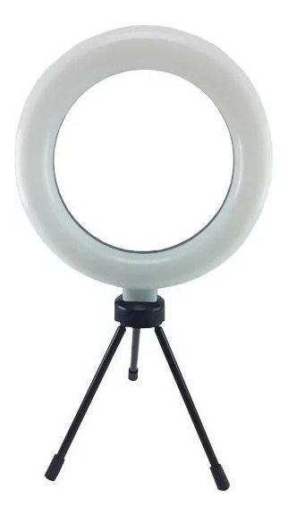 Luminária de Led Ring Light Para Fotografia, Filmagens E Maquiagem