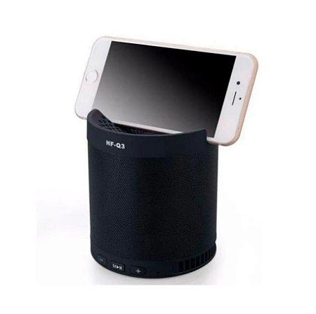 Caixa De Som Multifuncional Bluetooth Wireless Sem Fio Inova (Cor Preta)