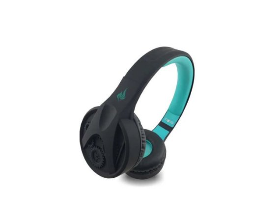 Fone De Ouvido Bluetooth Sem Fio Inova Fon-6708 (Preto e Azul)
