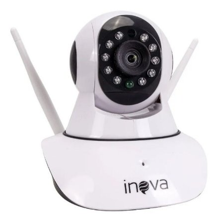Câmera de Monitoramento Smart Ip Inova Sem Fio Wireless Giratória CAM-5700