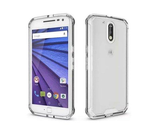 Capa Case Anti Shock Transparente Para Motorola Moto G4 Play