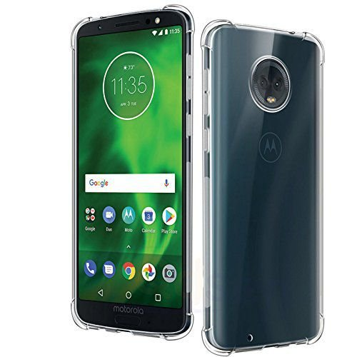 Capa Anti Shock para Moto G6 Plus Capa Anti-Impacto Transparente