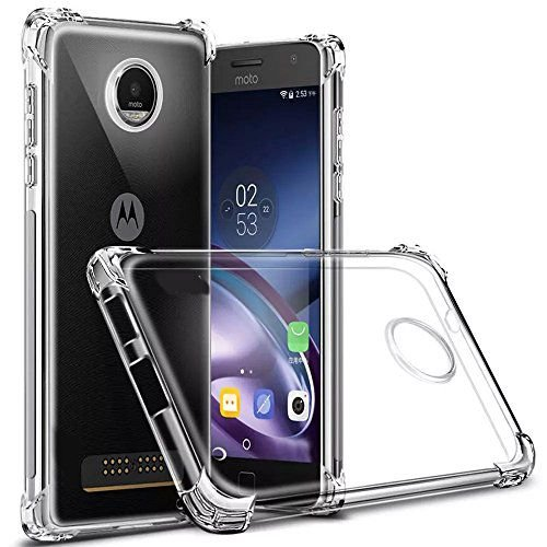 Capa Anti Shock para Moto Z3 Play Cell Case Transparente