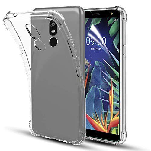 Capa Case Anti Shock LG K12+ 2019 Transparente Bordas Reforçadas