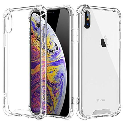 Capa Anti Shock para Iphone XR 6.1 Polegadas, Cell Case, Capa Anti-Impacto, Transparente