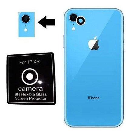 Película De Soft-glass Para Lente De Câmera iPhone XR