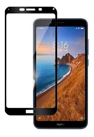 Pelicula De Vidro 3D Para Xiaomi Redmi 7A Bordas Pretas