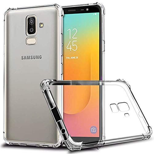 Capa Anti Shock para Samsung Galaxy J8, Cell Case, Capa Anti-Impacto, Transparente