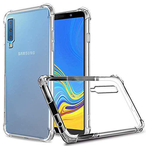 Capa Case Anti Shock Para Samsung Galaxy A7 2018 Transparente