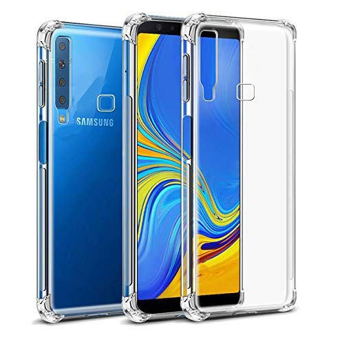 Capa Anti Shock Para Samsung Galaxy A9 2018 Transparente