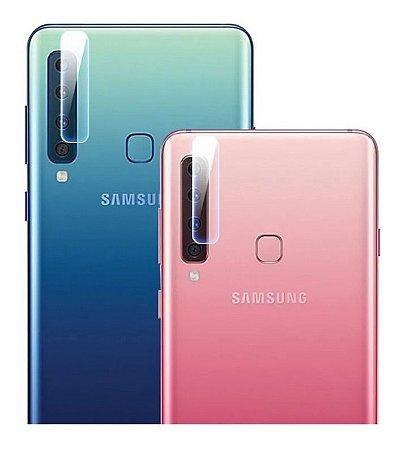 Película De Vidro Para Lente de Câmera Samsung Galaxy A9 2018