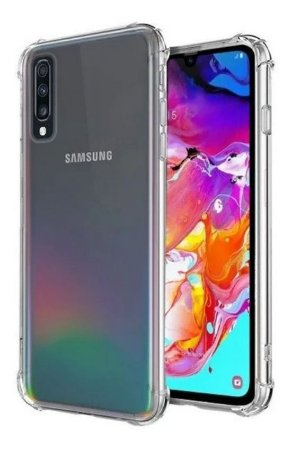 Capa Anti Shock Para Samsung Galaxy A70 2019 Transparente