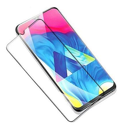 Película De Vidro 3D Para Samsung Galaxy M20 Bordas Pretas