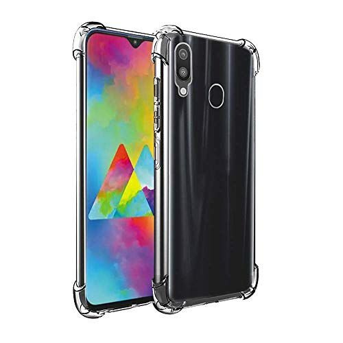 Capa Anti Shock Transparente Samsung Galaxy M30 2019 Bordas Reforçadas