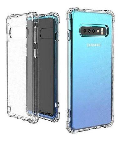 Capa Anti Shock Transparente Para Samsung Galaxy S10 Plus