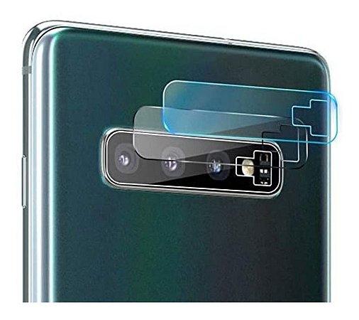 Película de Nano Gel Para Lente de Câmera Samsung Galaxy S10 / S10 Plus