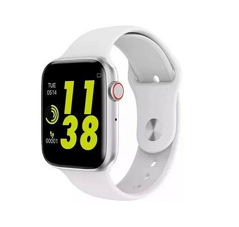 Relógio Smartwatch Inteligente Iwo 8 Lite Branco 44mm + Película de Brinde