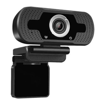 Webcam Full Hd 1080p Usb com Microfone