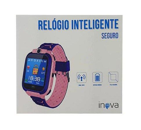 Relógio Smartwatch Inteligente Seguro REL-1838