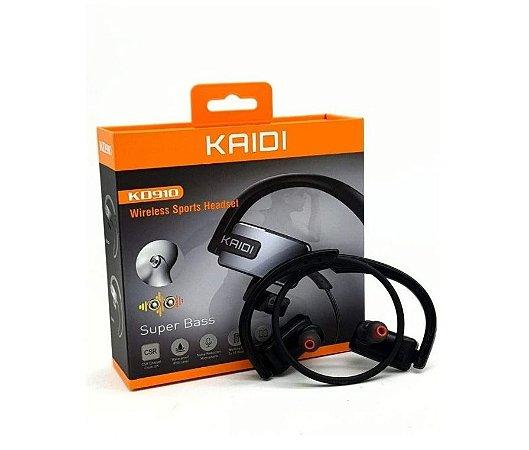 Fone de Ouvido Sem Fio Kaidi Kd-910 Esportes Bluetooth