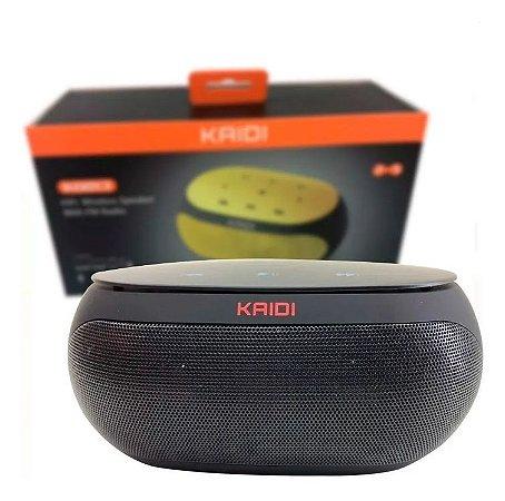 Caixa de Som Kaidi Kd-813 Portatil Bluetooth Wireless