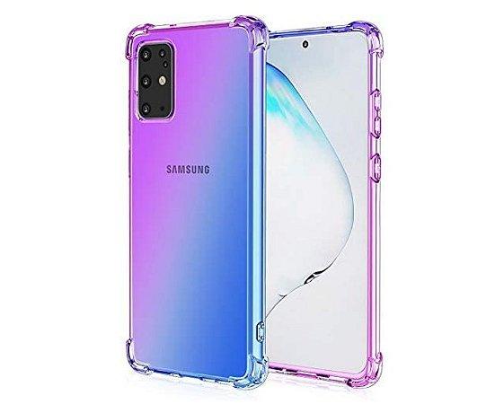 Capa Protetora Para Samsung Galaxy S20+ Plus com tela de 6.7 Polegadas Transparente