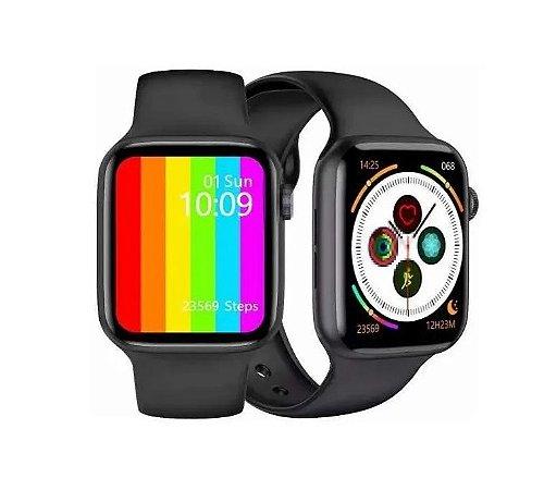 Relógio Smartwatch Iwo 12 Lite W26 44mm + Película de Brinde