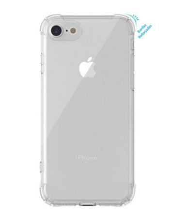 Capa anti shock Transparente para Apple iPhone SE bordas reforçadas