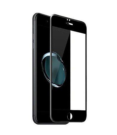 PELÍCULA DE VIDRO 3D PARA APPLE IPHONE 6G / 6S BORDAS PRETAS