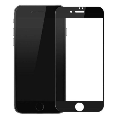 PELÍCULA DE VIDRO 3D PARA APPLE IPHONE 6 PLUS BORDAS PRETAS