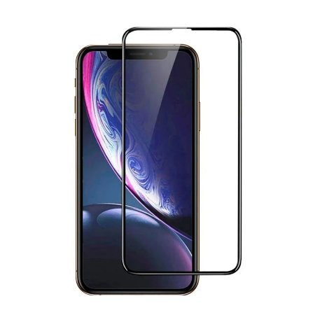PELÍCULA DE VIDRO 3D PARA APPLE IPHONE XS MAX BORDAS PRETAS