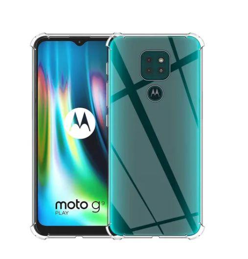 Capa Case Capinha Anti Shock  Transparente para Moto G9 Play