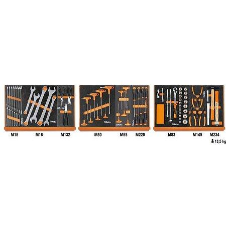 5904VG/1M - Jogo com 76 ferramentas para Reparação Automotiva