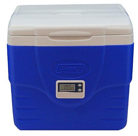 Caixa Térmica 8,5 Litros PU Termômetro Digital Max e Min