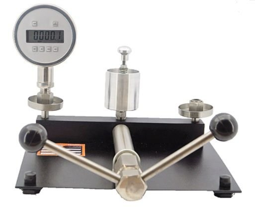 Bomba De Calibração + Manômetro Padrão Até 800 Kg