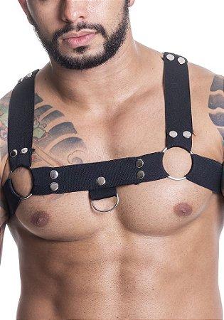 Harness em Elástico com Metal