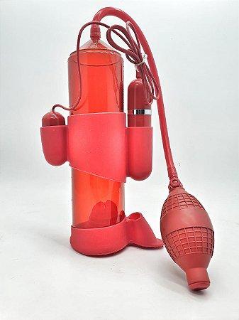 Bomba Peniana Manual Com Vibração