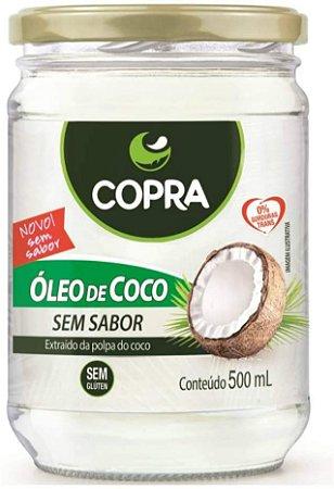 OLEO DE COCO S/ SABOR 500 ML COPRA