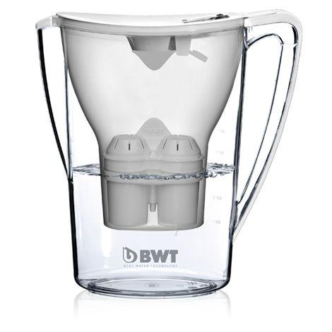 Jarra Purificadora de  Água BWT  2,7LTS Com Adição de  Magnésio cor Branca -3980