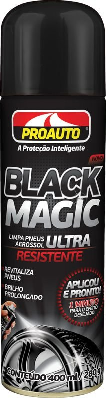 Limpa Pneus Black Magic 400ml