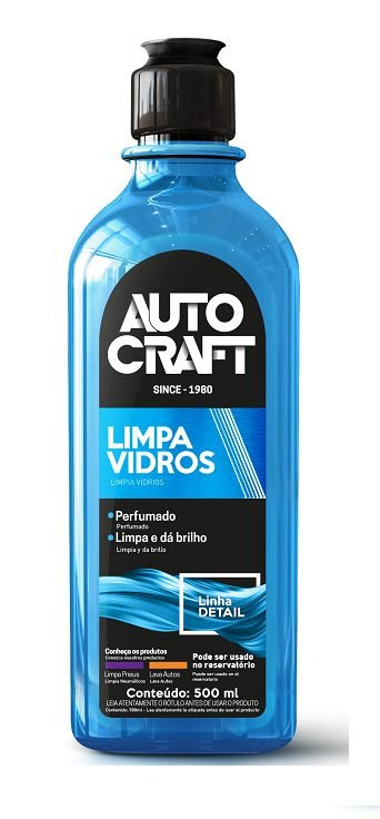 Limpa Vidros Autocraft 500 ml - Proauto