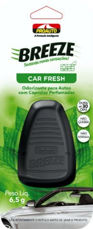 Odorizante Breeze Classic Car Fresh 6,5g - Proauto