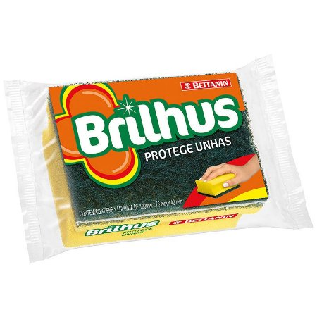 ESPONJA BRILHUS PROTEJE UNHA UNITÁRIA