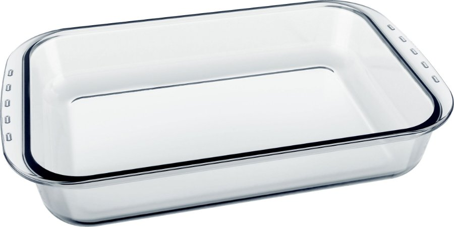 Assadeira Clássica Retangular 3,7 Litros S/ Tampa Lasanheira - Marinex