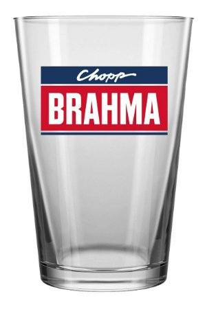 Copo Caldereta AMBEV Choop Brahma 350ml Caixa C/ 12 Unidades