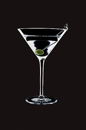 Taça Cristal Excellence Martini 240ml Caixa C/ 06 Unidades