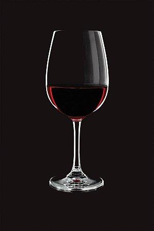 Taça Cristal Carpe Diem Vinho Tinto 450ml Caixa C/ 06 Unidades