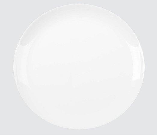 Prato Opaline Blanc Raso 27cm Caixa C/ 12 Unidades